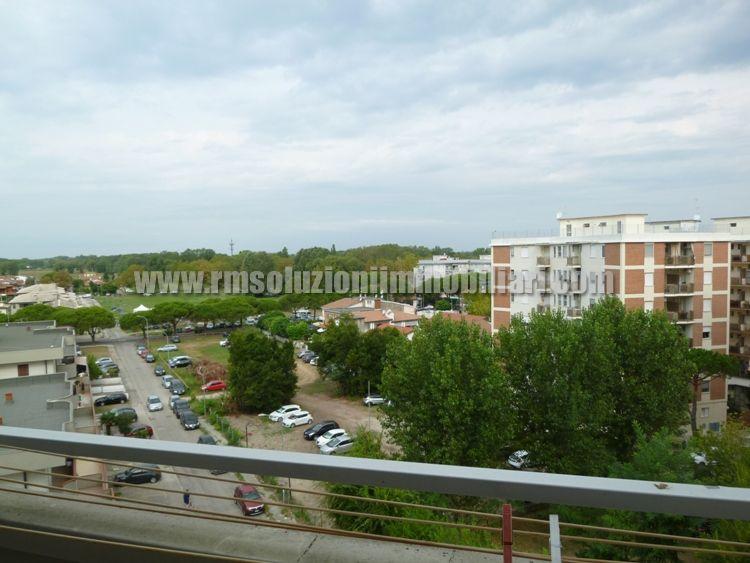 Tre locali con bellissima vista fronte mare in appartamento a 40 mt dalla spiaggia ai Lidi Ferraresi - la vista dalla cameretta